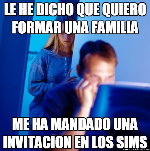 Marido_internet - Y allí toda la familia que quieras