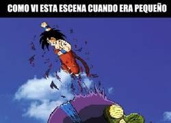Enlace a La batalla de Goku contra Piccolo, antes y ahora