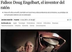 Enlace a D.E.P. Mr. Engelbart