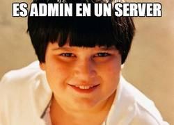 Enlace a Es admin en un server