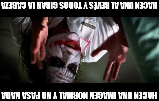 Joker - Hacen una imagen normal y no pasa nada