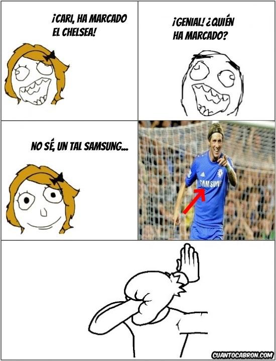 Otros - ¡Cari, gol del Chelsea!