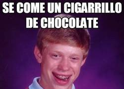 Enlace a Cigarrillos de chocolate