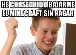 Enlace a Minecraft sin pagar