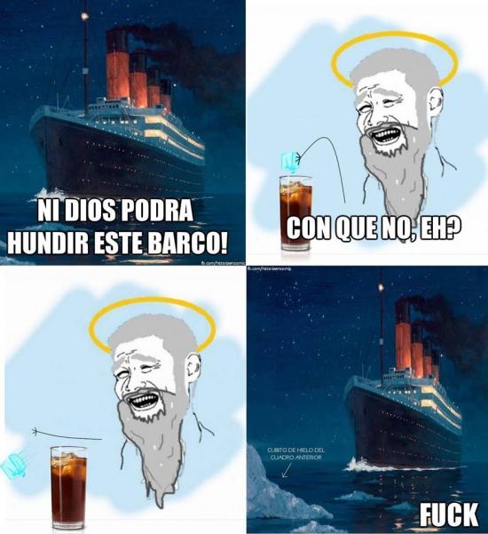 Yao - Y esto es lo que pasó realmente con el Titanic