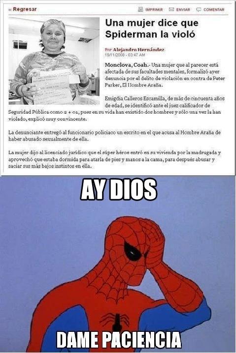 Oh_god_why - Spiderman no deja de meterse en líos