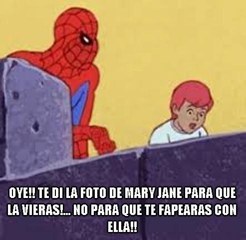 foto,marrano,mary jane,niño,spiderman