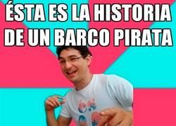 Enlace a El barco pirata