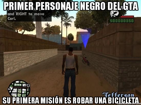 Meme_otros - No sé si estos de Rockstar son unos racistas o unos cachondos