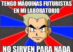 Enlace a Tengo máquinas futuristas en mi laboratorio