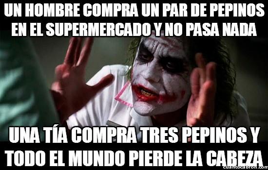 Joker - Todo depende de lo que compres en el supermercado
