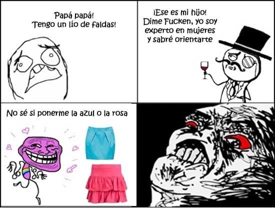 Feel_like_a_sir - Lío de faldas