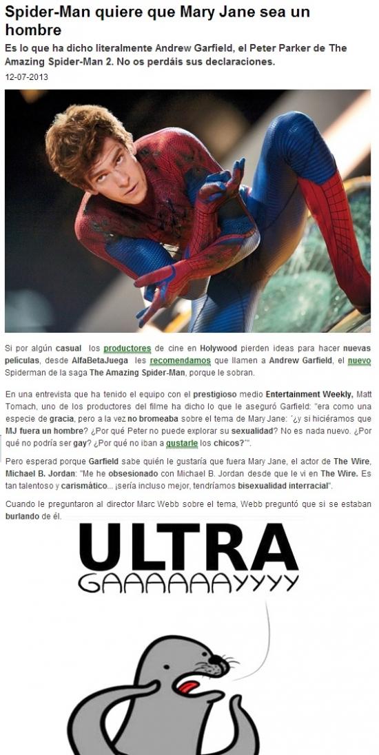 Otros - Creo que Spiderman tiene algo que contarnos