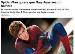 Enlace a Creo que Spiderman tiene algo que contarnos