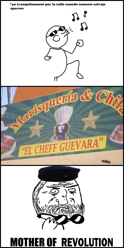 Mother_of_god - Si el Che levantara la cabeza...
