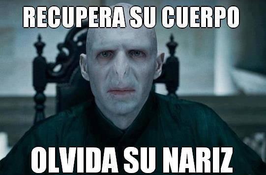 Bad_luck_brian - Voldemort recuperando su cuerpo, bueno casi