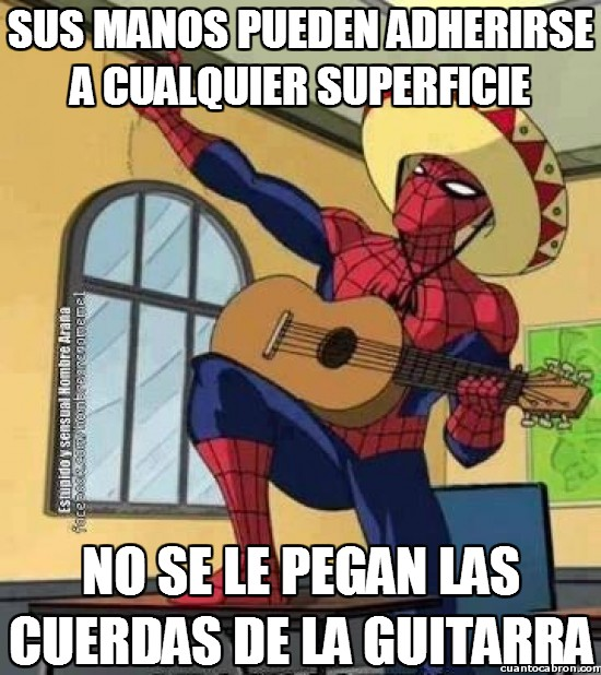 Meme_otros - Después de tantos años de superhéroe, Spiderman ha descubierto una nueva vocación