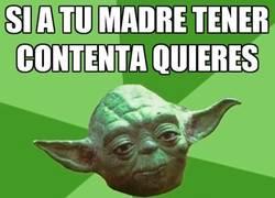 Enlace a Yoda sabe lo que se dice aunque su madre muriera hace ya varios siglos