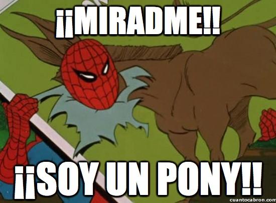 Spiderman60s - Pues como se entere Aznar igual te compra