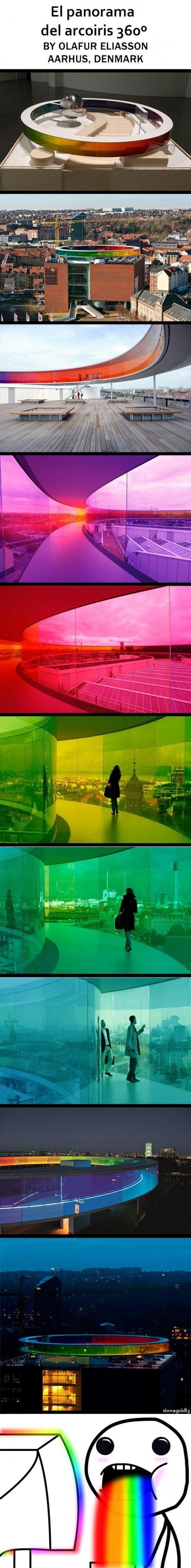 Puke_rainbows - Vivir al final del arcoiris ya es posible