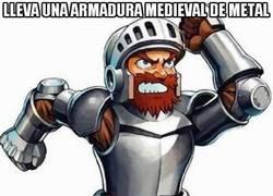 Enlace a Sir Arthur y sus armaduras poco resistentes