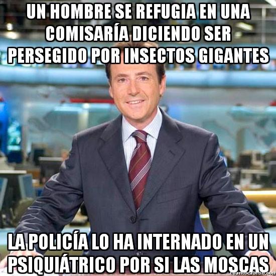 Meme_matias - ¡Socorro, insectos gigantes!