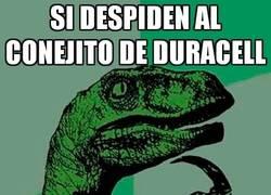 Enlace a Si el conejito de Duracell se queda sin curro