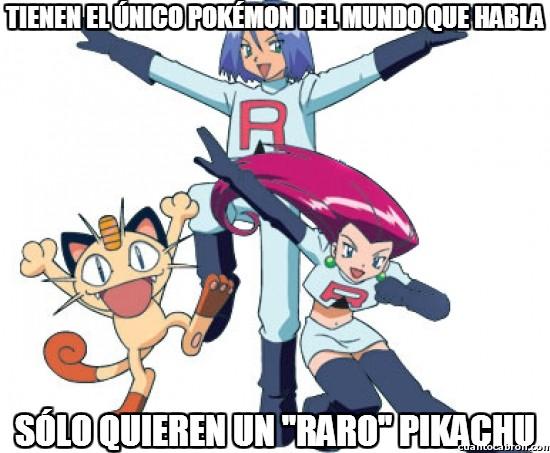 Meme_otros - Tienen el único pokémon del mundo que habla