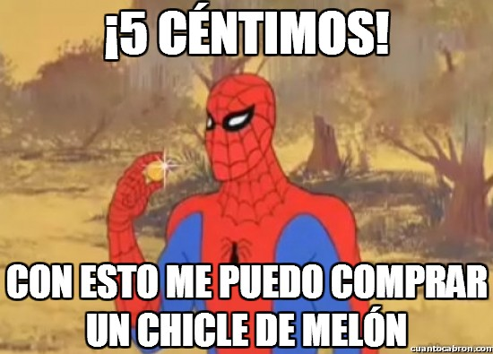 Spiderman60s - ¡5 céntimos!