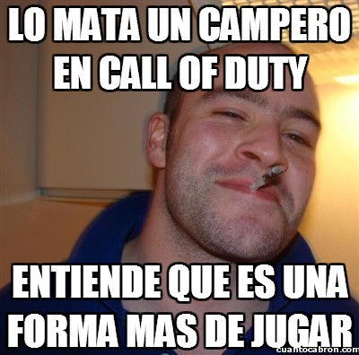 Good_guy_greg - Lo mata un campero en call of duty