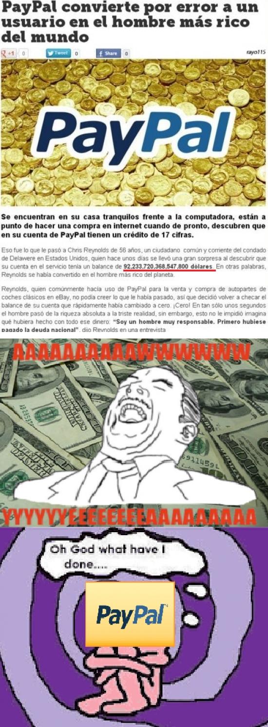 Aww_yea - Paypal y su generosidad involuntaria