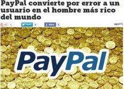 Enlace a Paypal y su generosidad involuntaria