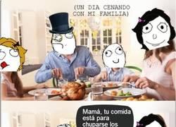 Enlace a Ya tendrás tiempo de echar de menos la comida de tu madre, ¡desagradecido!