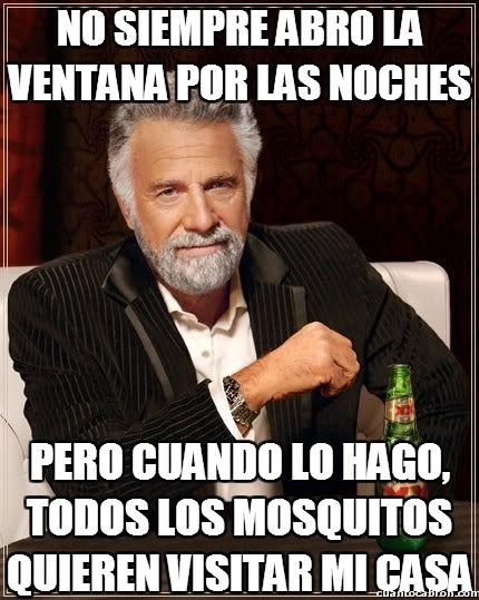 El_hombre_mas_interesante_del_mundo - No siempre abro la ventana por las noches