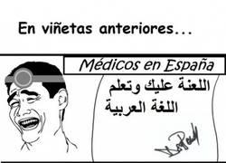 Enlace a Y nos quejamos de la caligrafía de los médicos de aquí...