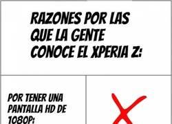 Enlace a Razones por las que la gente conoce el Xperia Z