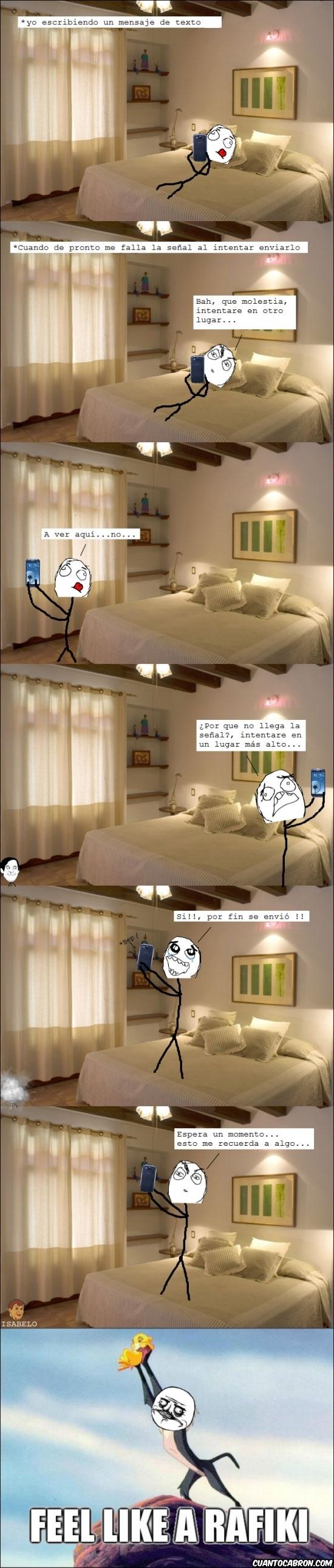 cama,cobertura,habitacion,happy,me gusta,mensaje,movil,Rafiki,rey leon,s3,señal