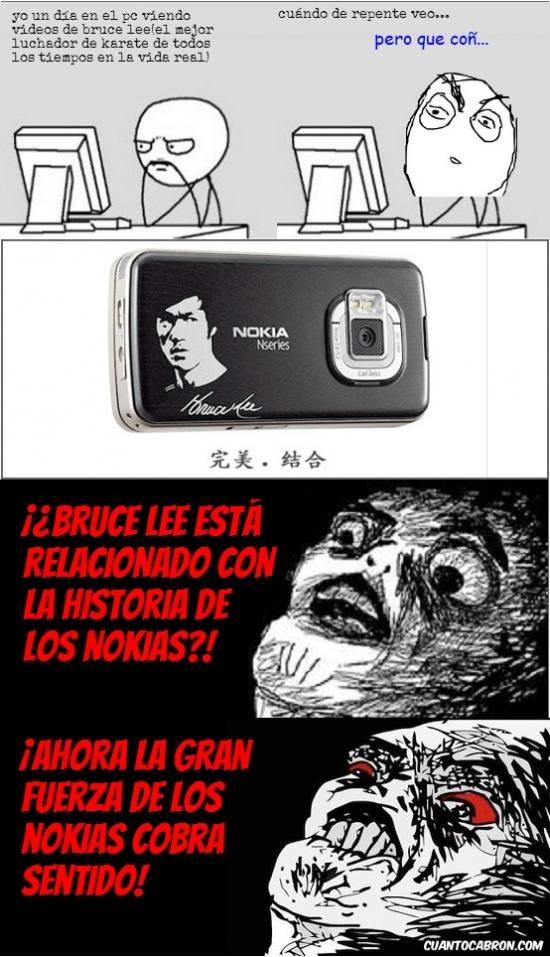 Inglip - Bruce Lee y los Nokias