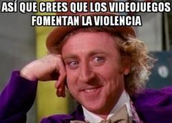 Enlace a La violencia siempre es culpa de los videojuegos, ¿no?