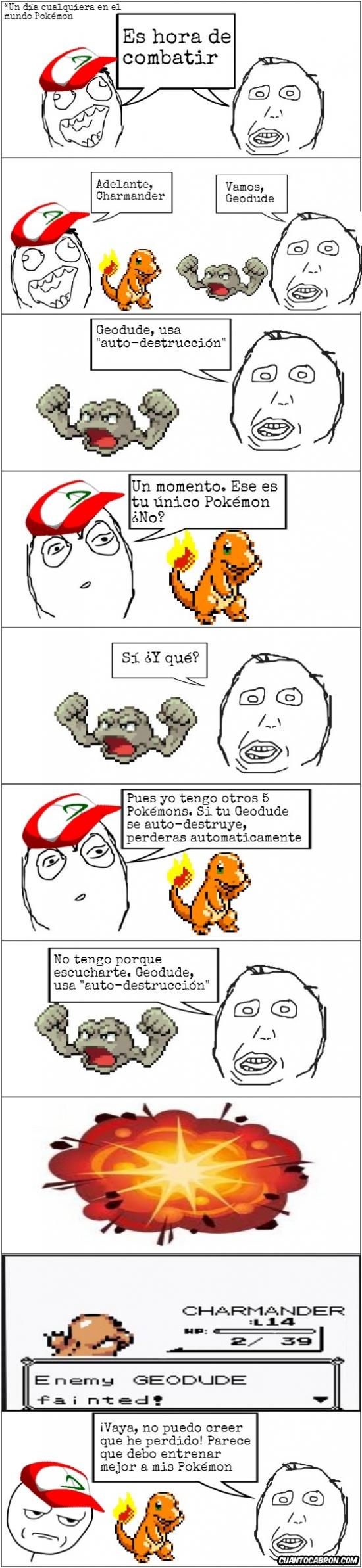 Kidding_me - Los entrenadores Pokémon son así de listos