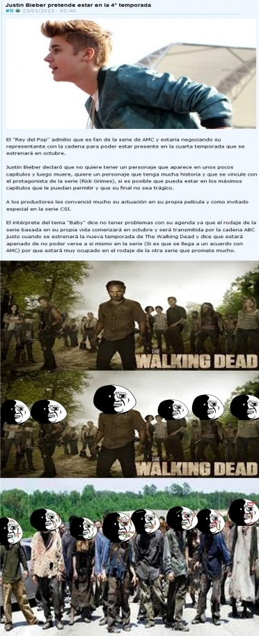 Oh_god_why - Estaría bien verlo como zombie