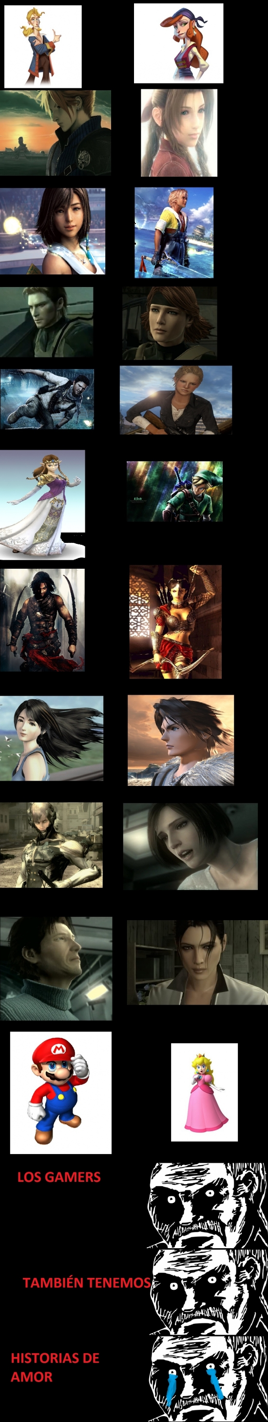 Mirada_fija - Amor en los videojuegos