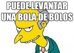 Enlace a La fuerza selectiva del Sr. Burns