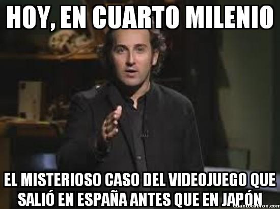 Cuarto_milenio - Videojuegos antes en España, no puede ser...