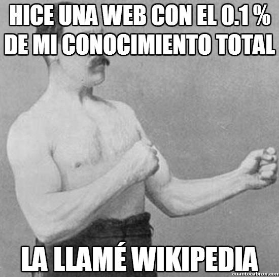 Overly_manly_man - Por fin conocemos al creador de la Wikipedia