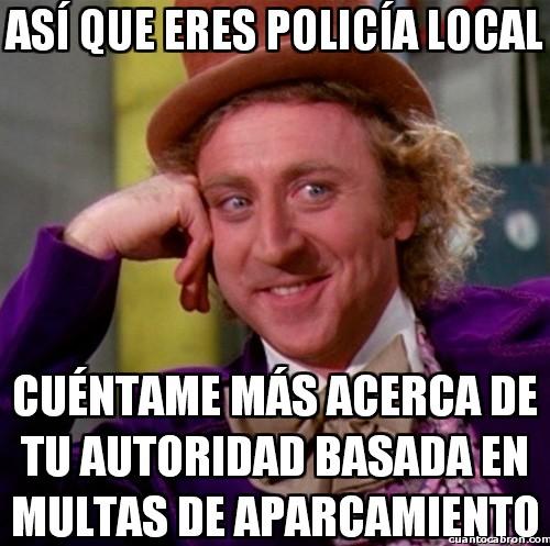 Wonka - La autoridad de la policía local