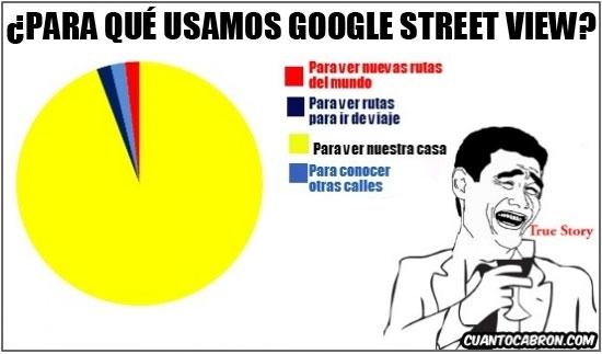 Yao - Google Street View y sus utilidades
