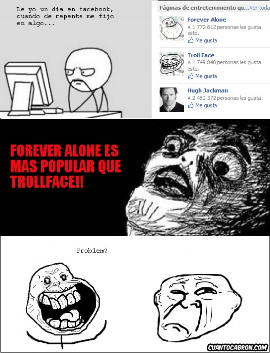 Forever_alone - Forever Alone, no tan alone
