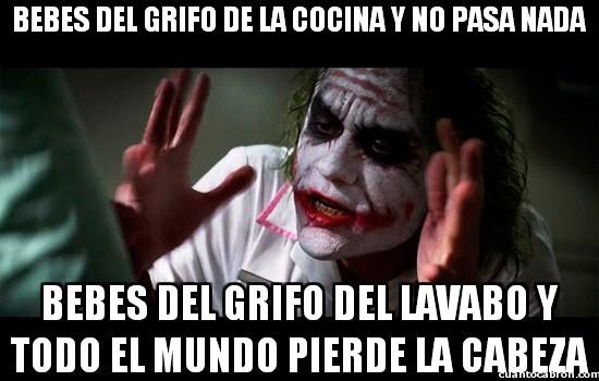 Joker - Aunque el agua sea la misma...