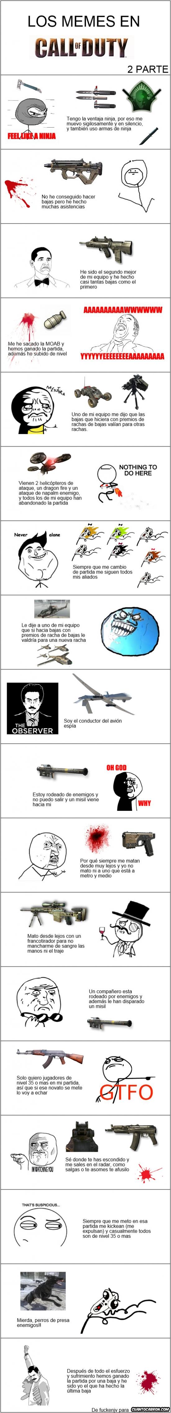 Mix - Los memes en Call of Duty, parte 2